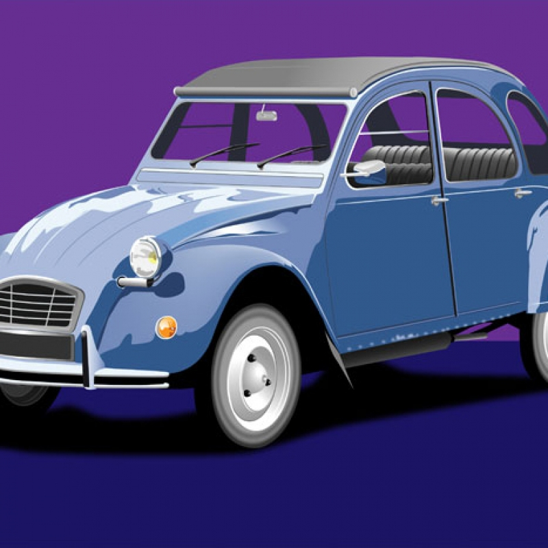 Illustration automobile